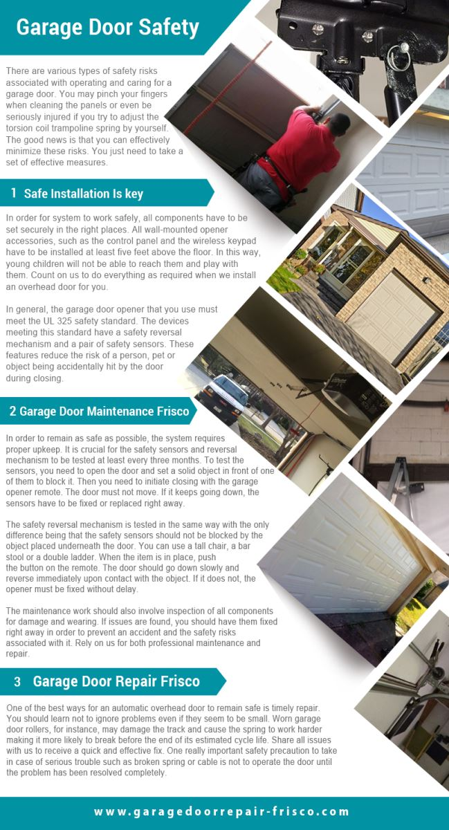 Garage door repair frisco infographic for Garage door repair tampa